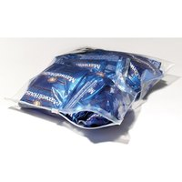 Plastic Food Bag 6 inch x 6 inch Slide Seal - 250/Case