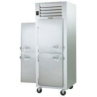 Traulsen G10005P 1 Section Solid Half Door Pass-Through Refrigerator - Left / Right Hinged Doors
