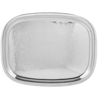 Vollrath 82120 Elegant Reflections Stainless Steel Oblong Serving Tray - 18 inch x 14 inch