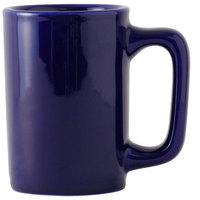 Tuxton BCM-1007 DuraTux 10 oz. Texan Cobalt Mug - 24/Case