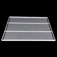 True 943084 White Coated Narrow Gap Wire Shelf - 25 11/16 inch x 20 3/8 inch
