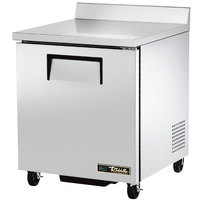 True TWT-27F-HC 27 inch Single Door Worktop Freezer