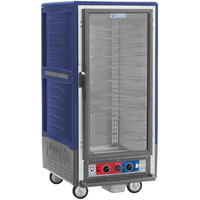 Metro C537-CFC-U-BU C5 3 Series Heated Holding and Proofing Cabinet with Clear Door - Blue