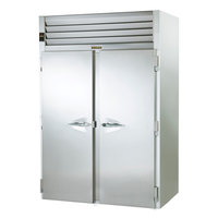 Traulsen RRI232LPUT-FHS Stainless Steel 80.2 Cu. Ft. Two Section Roll Thru Refrigerator for 66 inch Pan Racks - Specification Line