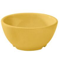 GET B-525-TY Diamond Mardi Gras 16 oz. Tropical Yellow Melamine Bowl - 24 / Case