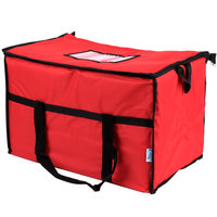 Choice Insulated Cooler Bag / Soft Cooler, Red Nylon