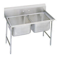 Advance Tabco 93-2-36 Regaline Two Compartment Stainless Steel Sink - 44 inch