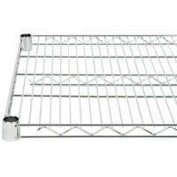 "Regency 21"" x 42"" NSF Chrome Wire Shelf"