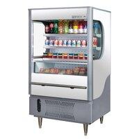 Beverage Air (Bev Air) VM12-1-W White VueMax Air Curtain Merchandiser 35 inch - 12 Cu. Ft.