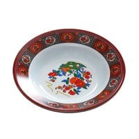 Peacock 3 oz. Round Melamine Soup Plate - 12 / Pack