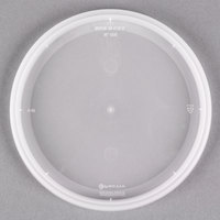 Newspring YNL500 4 9/16 inch DELItainer Translucent Round Deli Container Lid - 480/Case