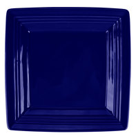 Tuxton CCH-0845 Concentrix 8 1/2 inch Cobalt Square China Plate   - 12/Case
