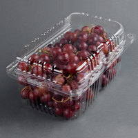 4 lb. Vented Clamshell Produce / Berry Container - 170 / Case
