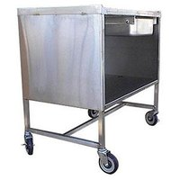 Winholt SSSC-3624MSD Enclosed Stainless Steel Sample Demo Table