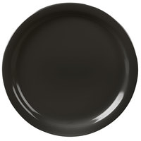 Carlisle KL20003 Kingline 8 7/8 inch Black Dinner Plate - 48 / Case