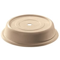 Cambro 1202CW133 Camwear 12 1/8 inch Beige Camcover Plate Cover - 12/Case