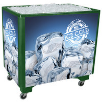 Green Ice Saver 060 Mobile 100 Qt. Frost Box with Casters