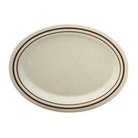 Arcadia Melamine Platter - 9 1/2 inch x 7 1/4 inch 12 / Pack