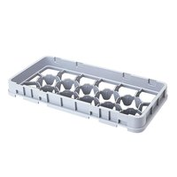 Cambro 17HE2151 Camrack 17 Compartment Gray Half Drop Half Size Extender