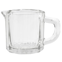 Anchor Hocking 7008 2.5 oz. Glass Creamer with Handle - 24 / Case