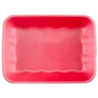 Genpak 1020K (#20K) Foam Meat Tray Rose 11 7/8 inch x 8 3/4 inch x 2 1/2 inch - 100/Case