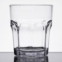 Carlisle 581207 Louis 12 oz. Clear Plastic Rocks Glass - 24/Case