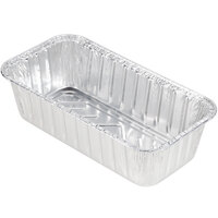 Durable Packaging 5100-35 2 lb. Foil Bread Loaf Pan - 50/Pack