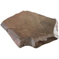 GET ML-282-SLATE Stone-Mel Melamine Display - 14 inch x 13 inch