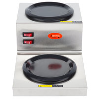 Avantco W53 Step Up Double Burner Decanter Warmer
