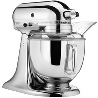 KitchenAid KSM152PSCR Chrome Custom Metallic Series 5 Qt. Countertop Mixer