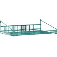 Metro GS1830K3 SmartWall G3 Metroseal 3 Grid Shelf with Retaining Ledge - 18 inch x 30 inch
