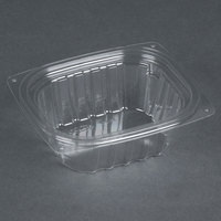 Dart Solo C6DER ClearPac 6 oz. Clear Rectangular Plastic Container - 1008/Case
