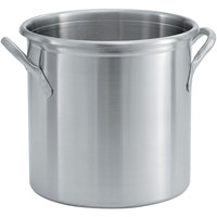 Vollrath 77610 Tri Ply 20 Qt. Stainless Steel Stock Pot