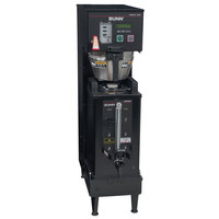 Bunn 33600.0013 Black BrewWISE Single Soft Heat DBC Brewer - 120/240V, 4100W