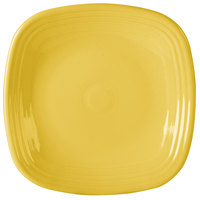 Homer Laughlin 919320 Fiesta Sunflower 10 3/4 inch Square Plate - 12/Case