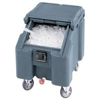 Cambro ICS100L401 Slate Blue Sliding Lid Portable Ice Bin - 100 lb. Capacity
