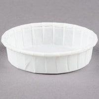 Dart Solo SCC100S 1 oz. Squat Paper Souffle / Portion Cup   - 5000/Case