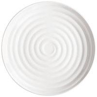 GET ML-83-W Milano 12 1/2 inch White Melamine Round Plate - 12/Pack