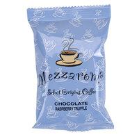 Ellis Mezzaroma Chocolate Raspberry Truffle Ground Coffee - (24) 2.5 oz. Packets / Case