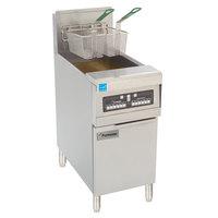Frymaster PH155-BL Liquid Propane High Efficiency Fryer 50 lb. with Basket Lift - 80,000 BTU