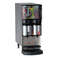 Bunn 34400.0004 LCA-2 Ambient Liquid Coffee Dispenser with LiquiBox QC/D II Connector - 120V