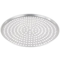 American Metalcraft A2016SP 16 inch x 1/2 inch Super Perforated Standard Weight Aluminum Tapered Pizza Pan