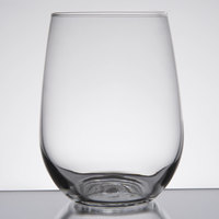 Libbey 221 17 oz. Stemless White Wine Glass - 12 / Case