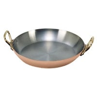 De Buyer 6449.12 Copper Paella Pan - 4 3/4 inch
