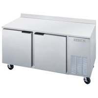 Beverage Air WTF67A 67 inch Two Door Compact Worktop Freezer - 27 cu. ft.