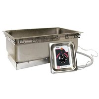APW Wyott TM-43 UL 4/3 Size Uninsulated One Pan Drop In Hot Food Well with UL Electrical Kit