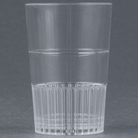 Fineline Quenchers 4115-CL 1.5 oz. Clear Hard Plastic Shooter Glass - 10/Pack