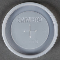 Cambro CLST9 Disposable Lid for Tumblers - 1000 / Case