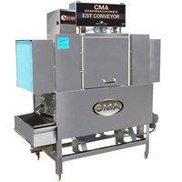 CMA Dishmachines EST-44 High Temperature Conveyor Dishwasher - Left to Right, 240V, 3 Phase
