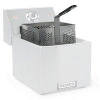 Nemco 67247 7 3/4 inch x 7 5/8 inch x 4 inch Stainless Steel Bulk Fryer Basket